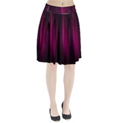 Theater Cinema Curtain Stripes Pleated Skirt