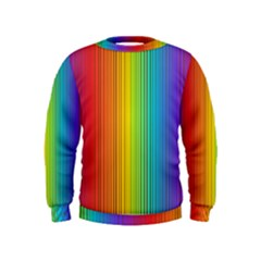 Background Colorful Abstract Kids  Sweatshirt