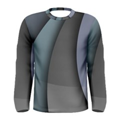Abstract Background Abstraction Men s Long Sleeve Tee