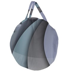 Abstract Background Abstraction Giant Round Zipper Tote