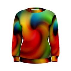 Abstract Spiral Art Creativity Women s Sweatshirt