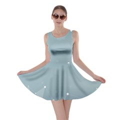 Background Abstract Line Skater Dress