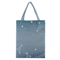 Background Abstract Line Classic Tote Bag