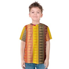 Abstract Pattern Background Kids  Cotton Tee