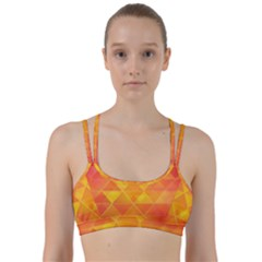 Background Colorful Abstract Line Them Up Sports Bra