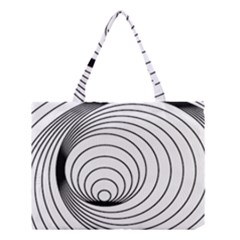 Spiral Eddy Route Symbol Bent Medium Tote Bag