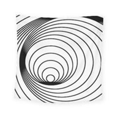 Spiral Eddy Route Symbol Bent Square Tapestry (small)