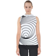Spiral Eddy Route Symbol Bent Shell Top