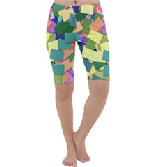 List Post It Note Memory Cropped Leggings