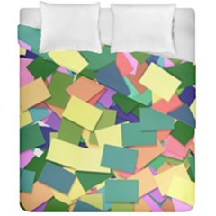 List Post It Note Memory Duvet Cover Double Side (california King Size)