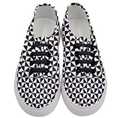 Triangle Pattern Simple Triangular Women s Classic Low Top Sneakers