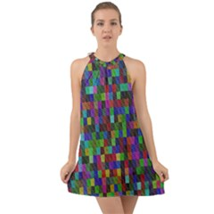 Artworkbypatrick1 17 Halter Tie Back Chiffon Dress