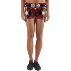 Dark Warp Yoga Shorts