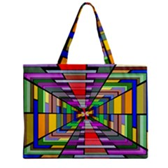 Art Vanishing Point Vortex 3d Mini Tote Bag