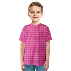 Abstract Background Card Decoration Kids  Sport Mesh Tee