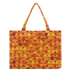 Background Triangle Circle Abstract Medium Tote Bag