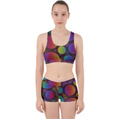 Background Colorful Abstract Circle Work It Out Gym Set