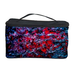 Water Color Red Cosmetic Storage Case by FunnyCow