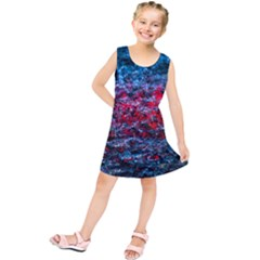 Water Color Red Kids  Tunic Dress by FunnyCow