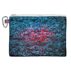 Water Color Red Canvas Cosmetic Bag (xl) by FunnyCow
