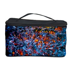 Water Color Orange Cosmetic Storage Case by FunnyCow