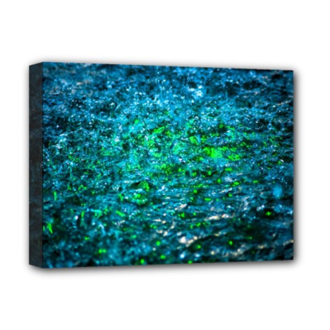 Water Color Green Deluxe Canvas 16  X 12   by FunnyCow