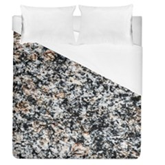 Granite Hard Rock Texture Duvet Cover (queen Size) by FunnyCow