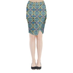 Artworkbypatrick1 19 Midi Wrap Pencil Skirt