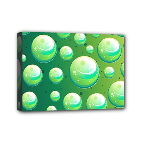 Background Colorful Abstract Circle Mini Canvas 7  X 5