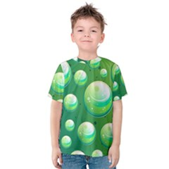 Background Colorful Abstract Circle Kids  Cotton Tee