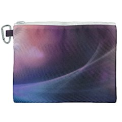Abstract Form Color Background Canvas Cosmetic Bag (xxl)