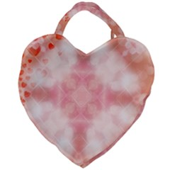 Heart Background Wallpaper Love Giant Heart Shaped Tote