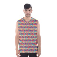 Background Abstract Colorful Men s Basketball Tank Top