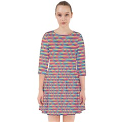 Background Abstract Colorful Smock Dress