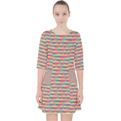 Background Abstract Colorful Pocket Dress