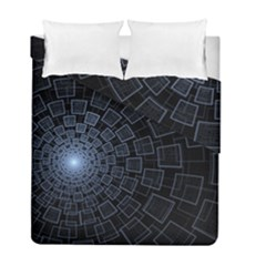 Pattern Abstract Fractal Art Duvet Cover Double Side (full/ Double Size)