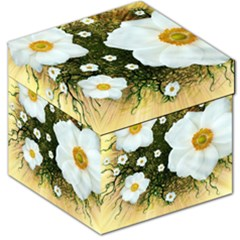 Summer Anemone Sylvestris Storage Stool 12