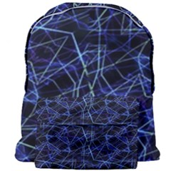 Galaxy Linear Pattern Giant Full Print Backpack