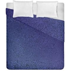 Fractal Rendering Background Blue Duvet Cover Double Side (california King Size) by Nexatart