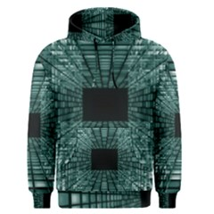 Abstract Perspective Background Men s Pullover Hoodie