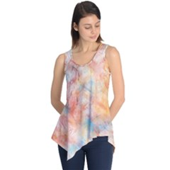 Wallpaper Design Abstract Sleeveless Tunic
