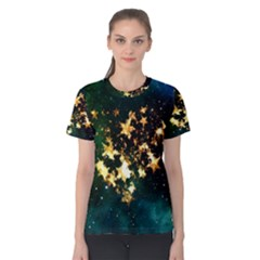 Heart Love Universe Space All Sky Women s Cotton Tee