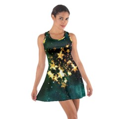 Heart Love Universe Space All Sky Cotton Racerback Dress