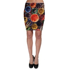Color Box Colorful Art Artwork Bodycon Skirt