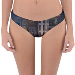 Architecture City Home Window Reversible Hipster Bikini Bottoms
