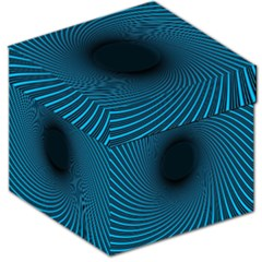 Background Spiral Abstract Pattern Storage Stool 12