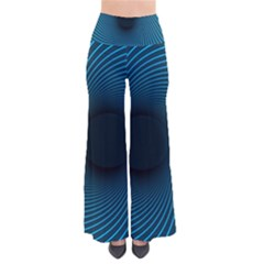 Background Spiral Abstract Pattern So Vintage Palazzo Pants