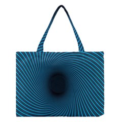 Background Spiral Abstract Pattern Medium Tote Bag
