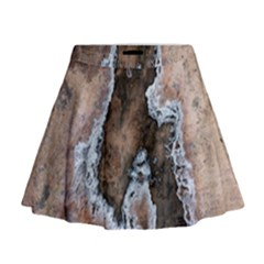 Earth Art Natural Texture Salt Of The Earth Mini Flare Skirt