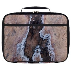 Earth Art Natural Texture Salt Of The Earth Full Print Lunch Bag